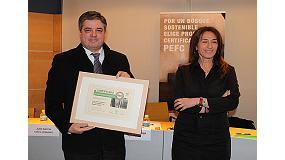 Foto de Aeim recibe el reconocimiento a su trayectoria en la sostenibilidad de los bosques