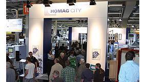 Foto de Homag muestra su tecnología, software y servicios en la Holz-Handwerk