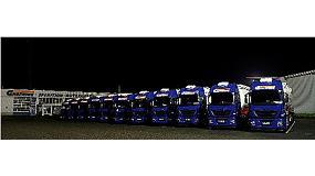 Foto de Iveco entrega a la alemana Greiwing Logistics 88 camiones Stralis Hi-Way Euro 6 fabricados en la planta de Madrid