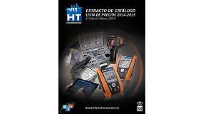 Foto de HT Instruments presenta novedades sobre Instrumentación para la verificación de instalaciones eléctricas