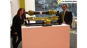 Foto de La Magdalena presentó en FIMA su transmisión para alta potencia