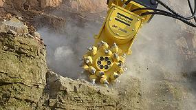 Foto de Atlas Copco añade fresadoras a su gama de implementos hidráulicos