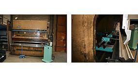Foto de Metalmaq actualiza con un CNC una plegadora en uso