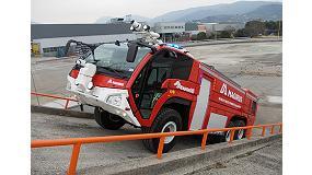 Foto de Iveco Magirus suministrará a Aena siete nuevas unidades del sofisticado camión contraincendios Dragon 6x6