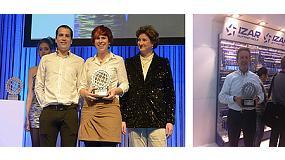 Foto de Izar, mejor empresa responsable en la Eisenwarenmesse de Colonia