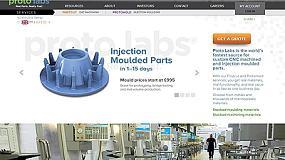 Foto de Proto Labs presenta su nuevo sitio web mundial