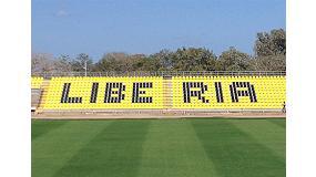 Fotografia de Seients Daplast per a l'estadi calmi del Mundial de futbol femen� sub 17 de la FIFA