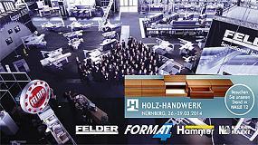 Foto de Felder Group, en Holz-Handwerk 2014