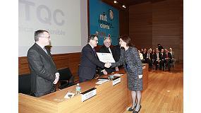 Foto de Reconocimiento especial Cepta 2013 al Centro Tecnológico de la Química