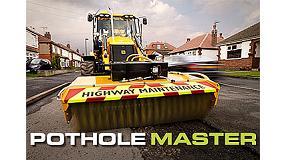 Foto de JCB presenta un nuevo �capataz de obras� para reparar carreteras