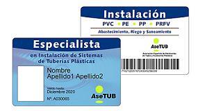 Foto de El carné de Asetub de instalador de tuberías plásticas cumple 10 años