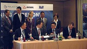 Foto de Molecor introduce su tecnología de PVC-Orientado en el sudeste de Asia