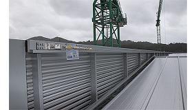 Foto de Isanimar Seguridad instala l�neas de vida sobre una estructura met�lica