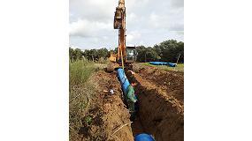 Foto de PVC orientado, una opción sostenible para el transporte de agua potable