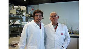 Foto de Entrevista a Christian Larrigaudière y Jordi Giné, investigadores del Subprograma de Fisiología y Tecnología Poscosecha del IRTA