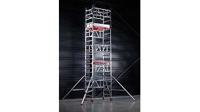 """Foto de La torre de aluminio MiTower """"revoluciona"""" el mundo del andamio"""