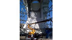 Foto de IK4-Tekniker verifica las medidas del mayor telescopio solar del mundo