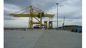 Foto de Saint-Gobain PAM España, presente en el puerto de Prioriño con sus registros y trampillones