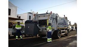 Foto de FCC transforma el servicio de recogida de basuras en el municipio de T�as (Lanzarote)