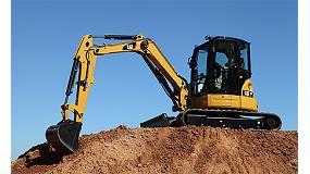 Fotografia de Noves mini excavadores Cat: gran pot�ncia d'excavaci� sota un control prec�s