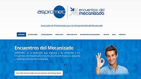 Foto de Aspromec y Encuentros del Mecanizado estrenan imagen y plataforma web