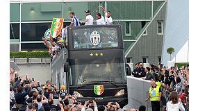 Foto de Iveco Bus celebra con la Juventus de Turin su nuevo 'Scudetto'