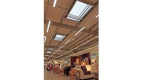 Foto de Iluminaci�n natural Lled� Sunoptics en la nueva tienda Marks&Spencer en Monks Cross York
