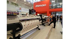 Foto de Las nuevas máquinas de Mimaki elevan la flexibilidad y la calidad en la impresión en gran formato