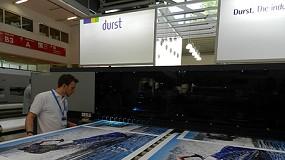 Foto de Durst presenta sus nuevas soluciones de impresión en la Fespa Digital 2014