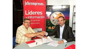 Fotografia de Asmava i Interempresas signen un conveni de col�laboraci�