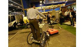 Foto de Grau Maquinaria revoluciona la limpieza viaria con su nuevo triciclo eléctrico
