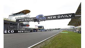 Foto de El nuevo Iveco Daily, patrocinador y protagonista del Gran Premio de MotoGP 2014 de Assen