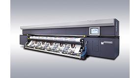 Foto de Durst Rho 512R, galardonada con un premio EDP a la mejor impresora de bobina para ultra gran formato