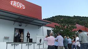 Foto de Trops inaugura sus instalaciones de manipulado de frutales en Jete