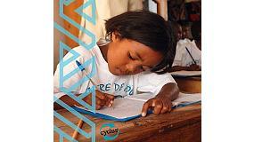 Foto de La nueva imagen de Cyclus apoya la educación en África
