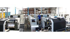 Foto de Pixartprinting sigue invirtiendo en el formato pequeño con la cuarta Komori y dos HP Indigo 10000