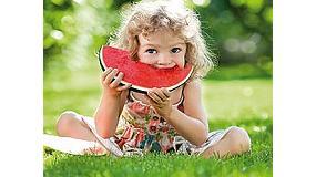 Foto de Sandía Marca Fashion, fruta saludable