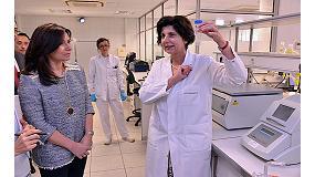Foto de La viceconsejera de Ordenación Sanitaria e Infraestructuras, Belén Prado, visitó el Laboratorio de Aenor donde se analizan alérgenos