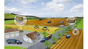 Foto de New Holland PLM Connect permite gestionar flotas de vehículos de cualquier dimensión