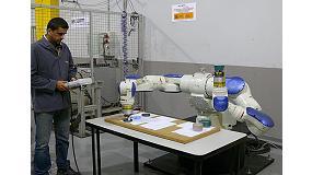 Foto de Ascamm pone a disposición de las empresas el robot Yaskawa SDA20D para sus pruebas piloto
