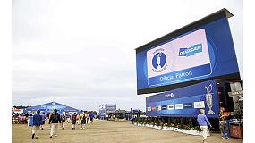 Foto de Doosan patrocinó el Open Championship 2014, el torneo de golf más prestigioso del mundo