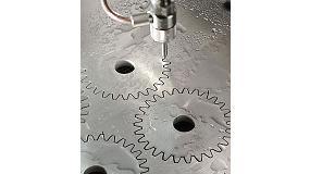 Foto de Corte por chorro de agua con intensificadores hidráulicos 'advanced intensifier technology'