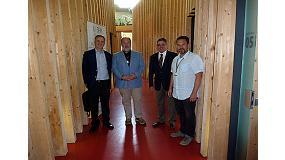Foto de Aeim se reúne con la Oficina EFI-Flegt&Redd