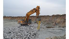Foto de Una explotación minera cumple los objetivos de producción sin voladura gracias a los martillos Atlas Copco