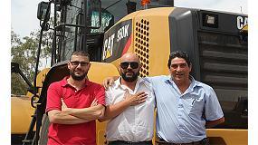 Foto de El Centro de Tratamiento de Residuos Urbanos de Alicante (Cetra) adquiere dos palas Cat 950K