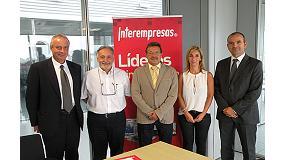 Foto de Techsolids y el Grupo Nova �gora firman un acuerdo de colaboraci�n con el fin de promocionar el sector de la tecnolog�a de s�lidos