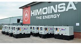 Foto de Crecimiento récord de Himoinsa en Reino Unido en los últimos ocho meses