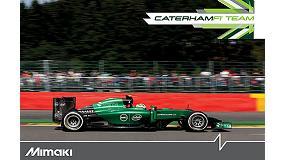 Foto de Mimaki, nuevo socio técnico del equipo de F1 Caterham