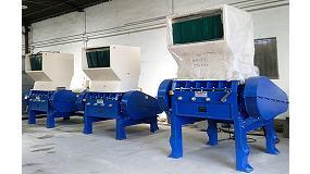 Foto de Mayper presenta sus �ltimas soluciones para el reciclado pl�stico en Equiplast 2014