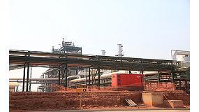 Foto de Energía Himoinsa en una de las mayores plantas de fabricación de biocombustible en Angola